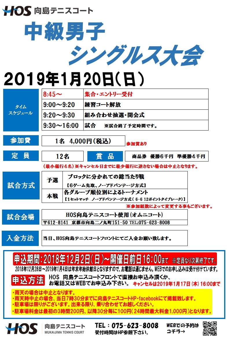 2019.01 中級男子S