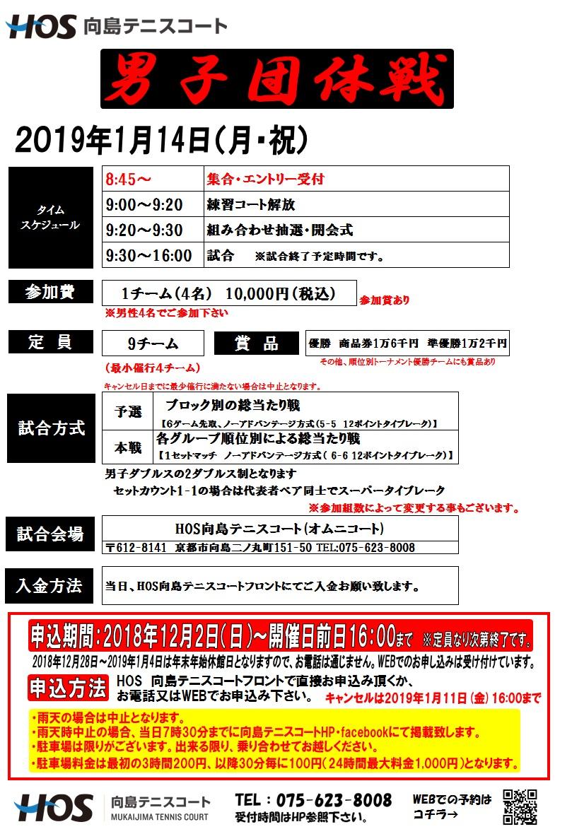 2019.01 男子団体