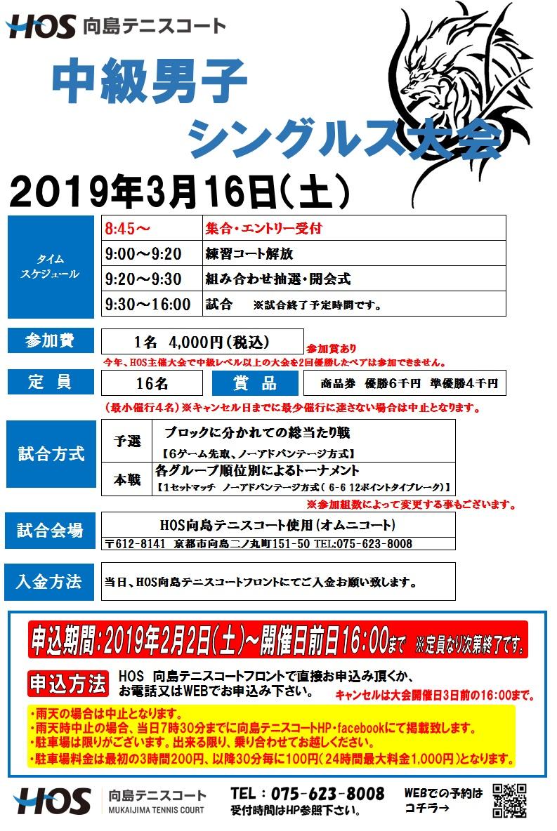2019.3中級男子S