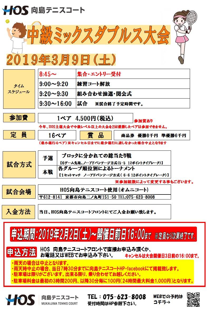 2019.3中級ミックスD