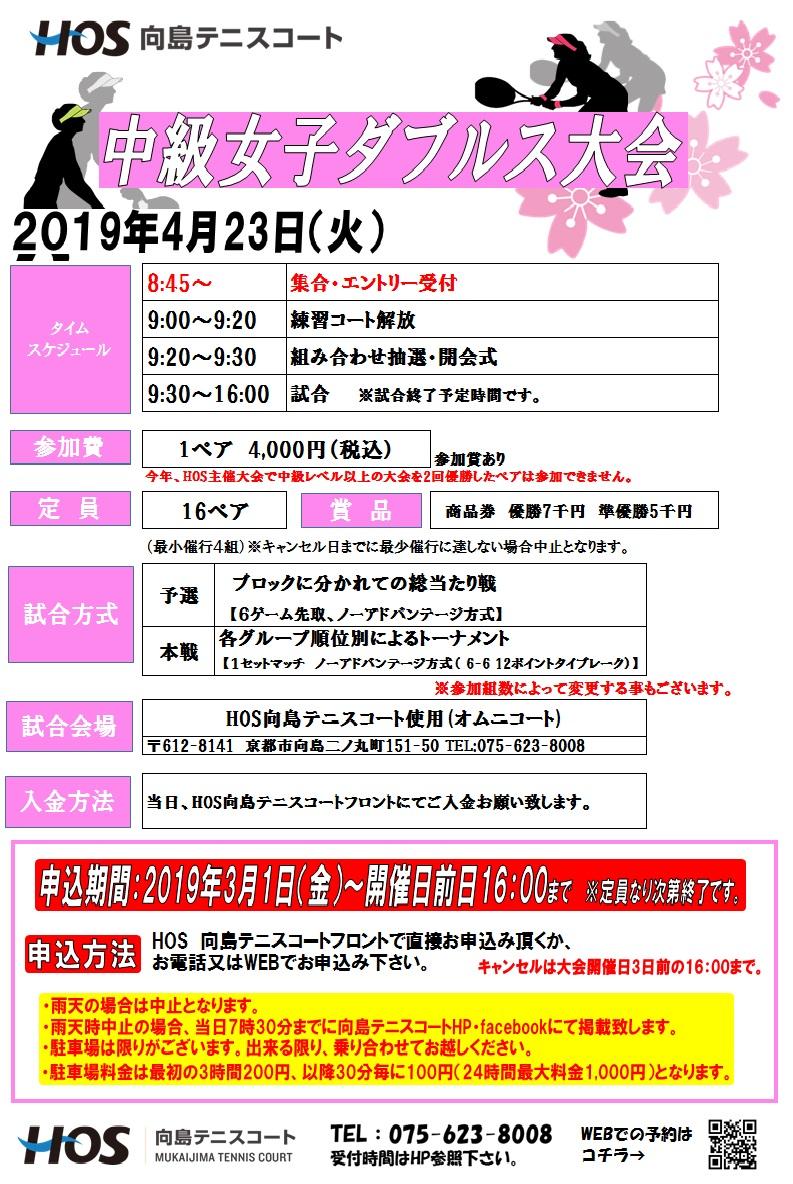 2019.4中級女D