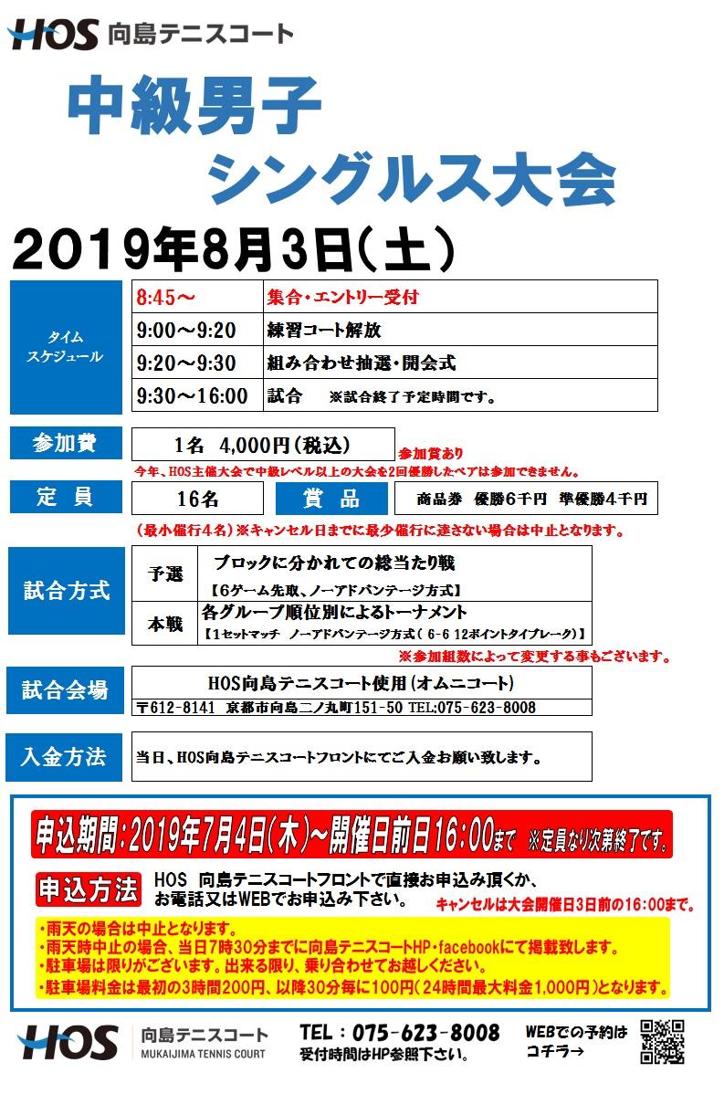 2019.08中級男子シングルス