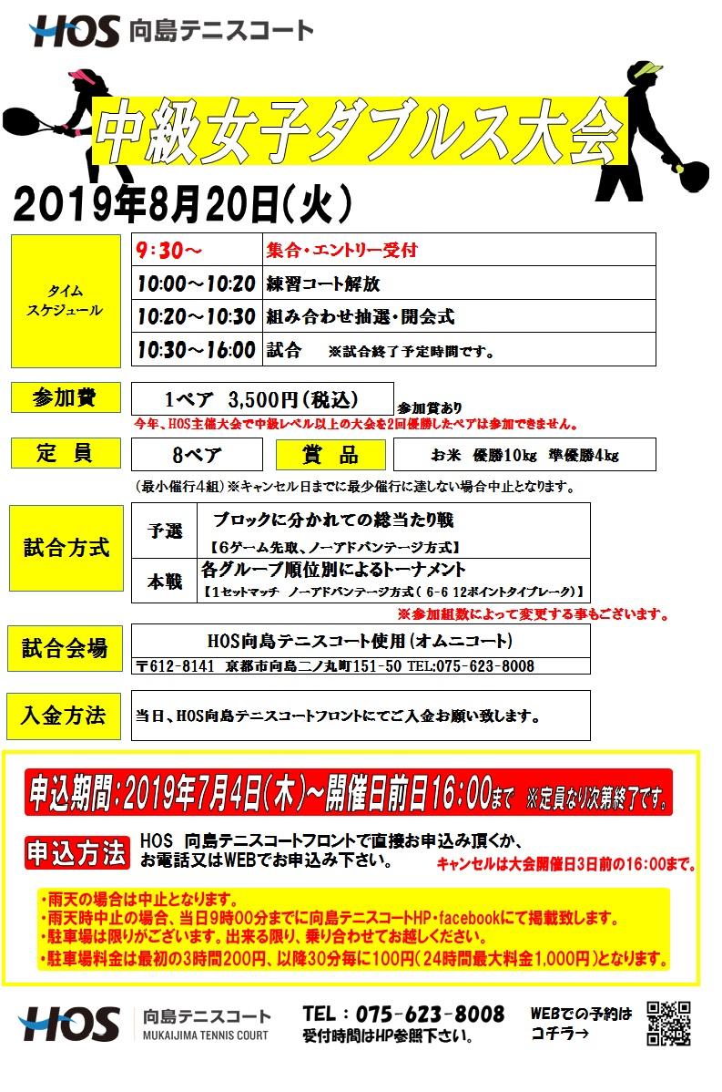 2019.08中級女子D