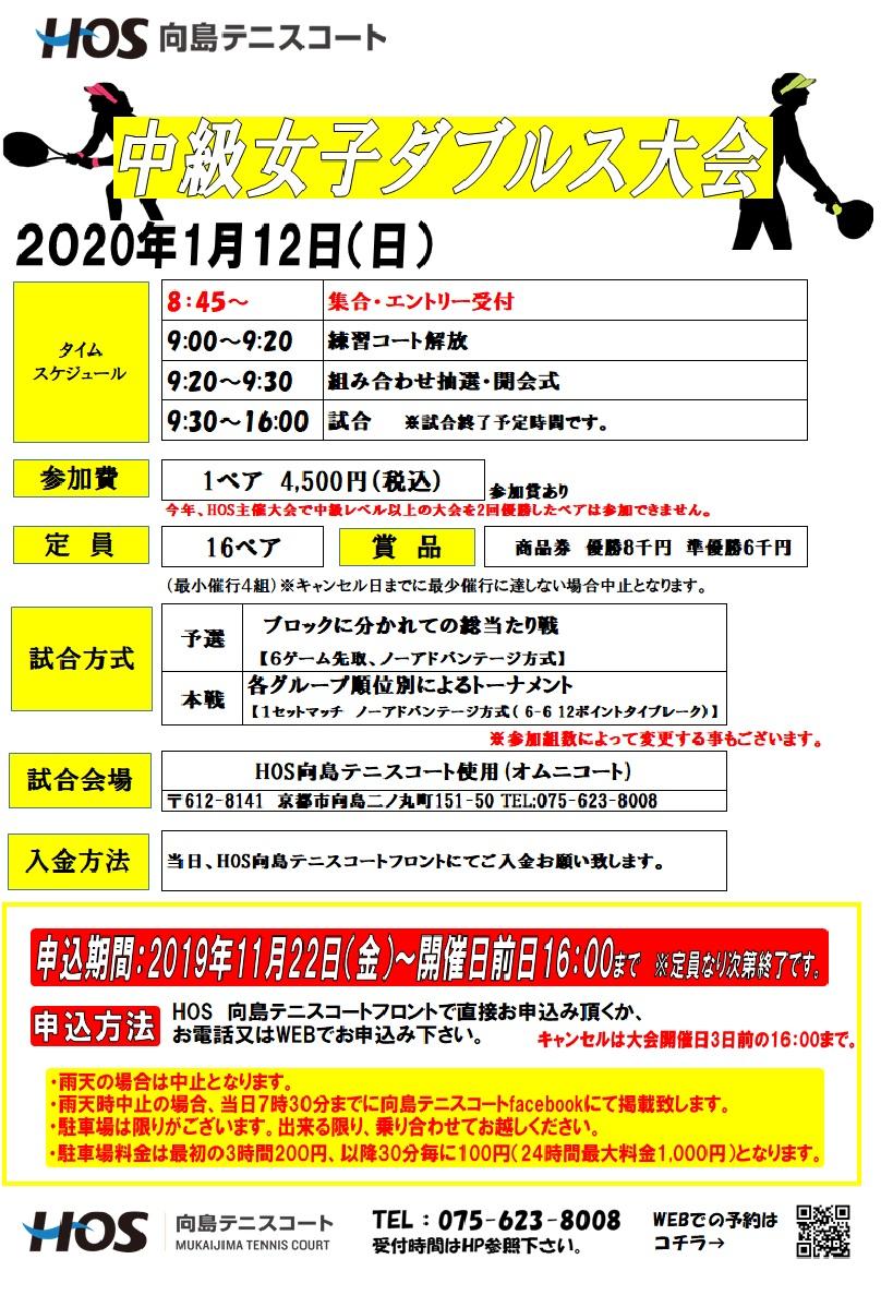 2020.01 中級女子D