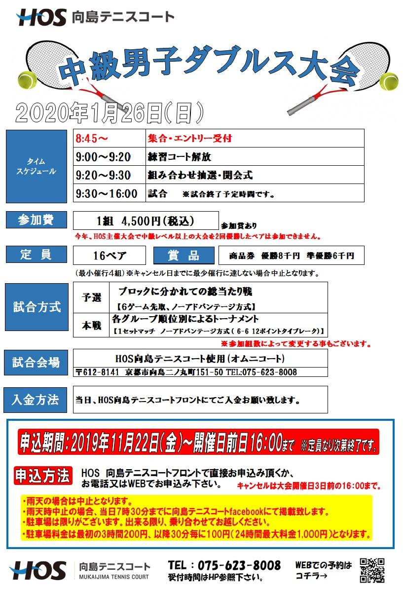 2020.01 中級男子D