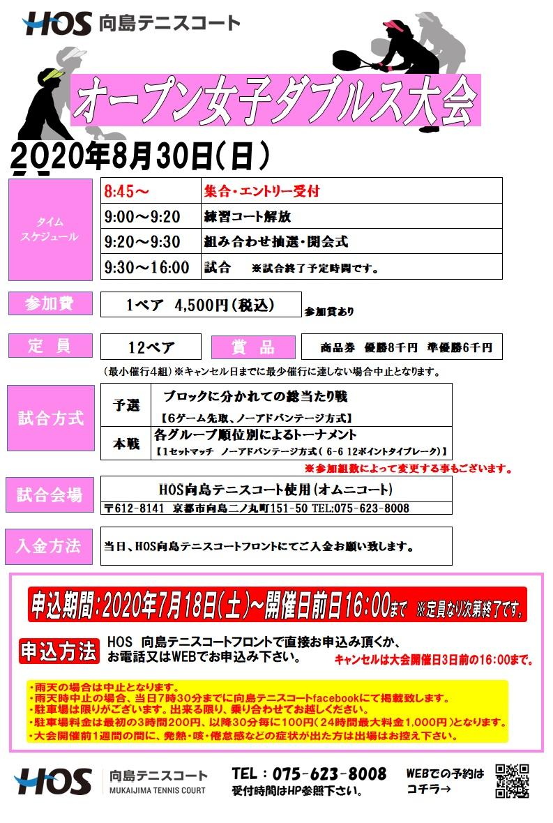 2020.08オープン女子D